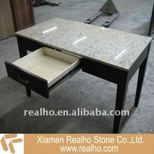 white granite desk top