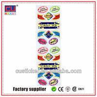 Factory offer customized usb flash drive with logo sticker