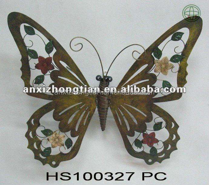 2010 Newest Metal Butterfly Wall Decoration