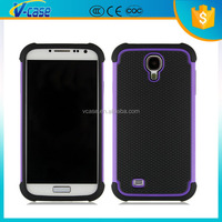 Waterproof Silicon + Hard Back PC Cover Devil Phone Case For Samsung Galaxy Note 4