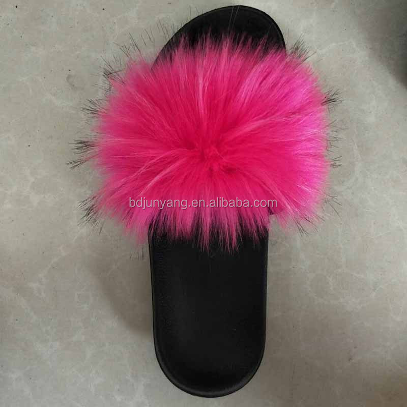 women slippers sandals fur slides custom slippers women