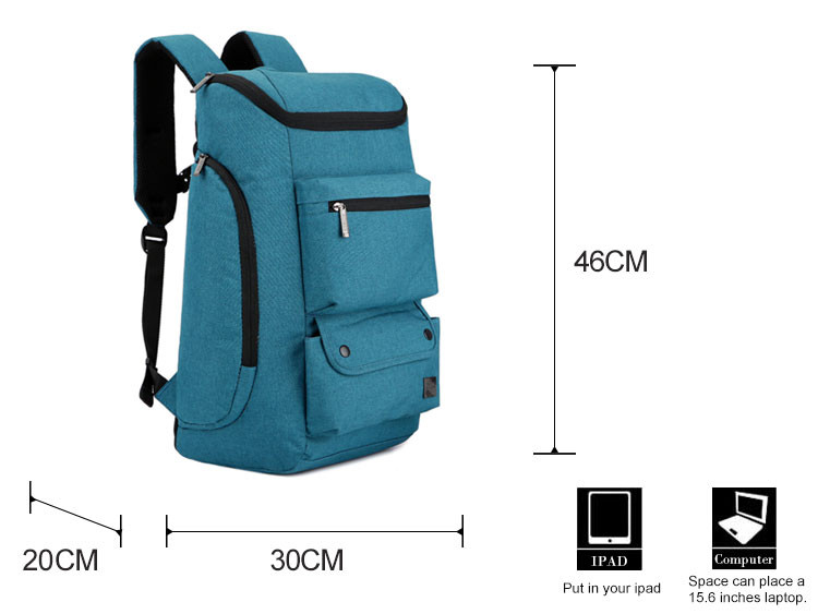 Factory direct teen mountain climbing bag and backpack