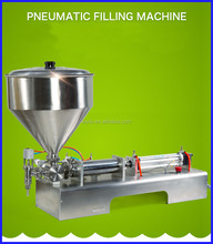 tomato paste filling and sealing packing machine/cooking oil filling machine/hummus filling machine