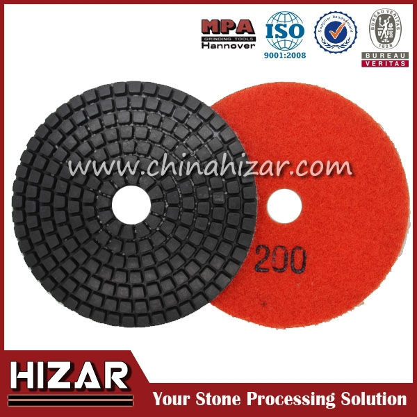 Hot sale Wet Diamond Polishing Pads for polishing marble, granite