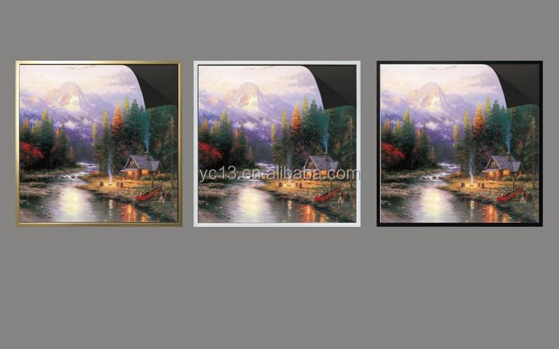 magnetic picture frame & print magnetic paintinga Thomas kinkaides 1013-174