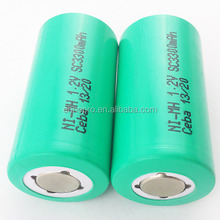 Shenzhen rechargeable ceba 1.2v dry cells pack hybrid electric vehicle car nimh battery