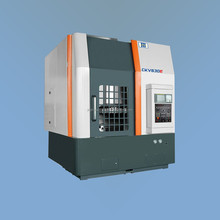 3 axes table rotating single column cnc vertical metal cutting lathe for disc shape flat workpiece