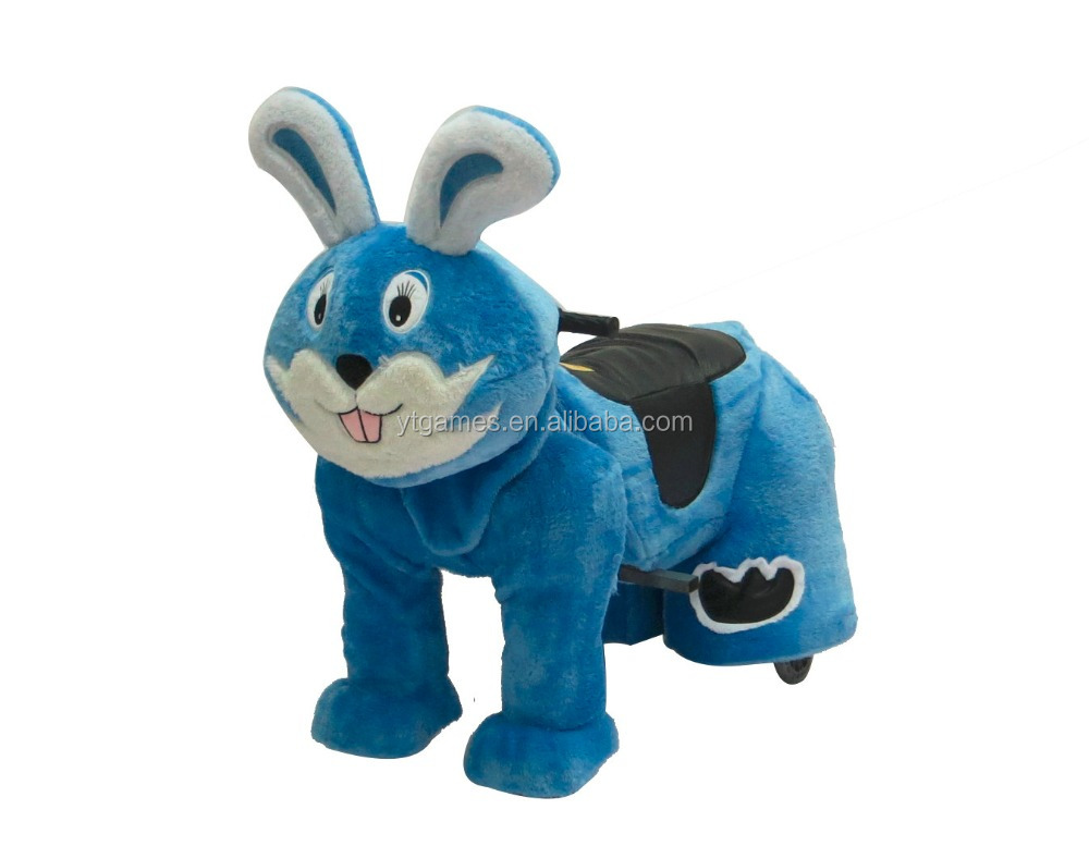 ride on plush toy riding animals coin operated kiddie rides