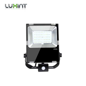 Waterproof IP65 Led Slim SMD3030 SMD5050 Rechargeable Max 170LM/W Floodlight 50W LED Outdoor Flood Light