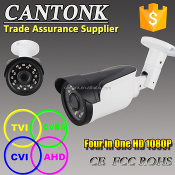 Cantonk 2megapixels motor zoom and focus CCTV Varifocal camera with 25m IR night vision