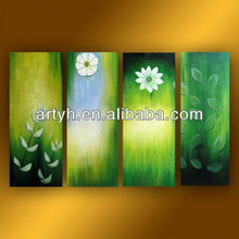Latest best price textured group oil paintings