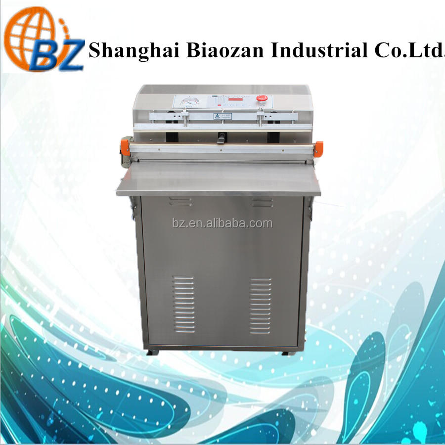 BZ Notrogen Gas Flush Vacuum Packing Machine For Food Commercial