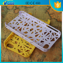 2015 New arrival plastic bird nest style back skin phone case for iphone 6