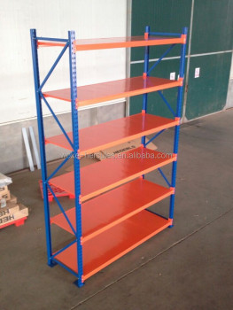 warehouse medium duty shelving rack