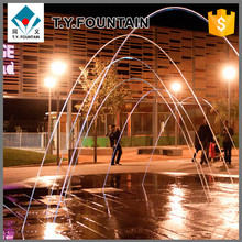 Hot sale led jumping jets water fountain light with led