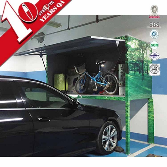 Modern Garage Steel Tool Storage Over Car Bonnet Cabinet/Parking Place Bicycle Locker