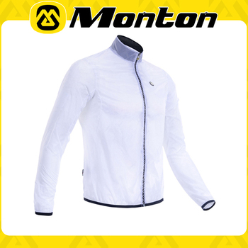 Monton Stars Waterproof White 2015 wholesale and customized cycling jersey