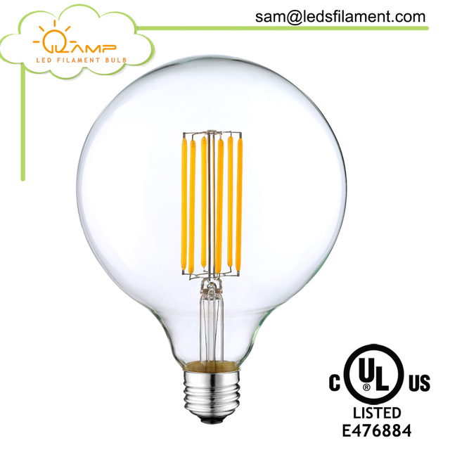 Retro 4W 6W 8W No Flicker Low Heat LED Filament Light Bulb ST64 E27 220V Dimmable Replace Edison Bulb