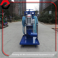 ALL WIN supply cleaning room use oil portable filtration system