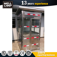 Stainless Steel Simple Design Prefabricated Portable Security Guard House Malaysia