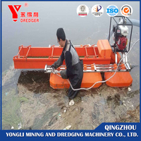 small gold dredger boat portable mini gold dredge machine