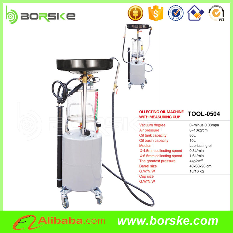 Pneumatic waste oil extractor and mini oil extractor for car