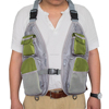 Wholesale light weight simple style fly fishing vest breathable mesh