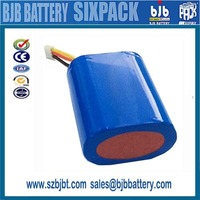 Shenzhen Factory / rechargeable icr 18650 li-ion Battery Packs 11.1v 12.6v 14400mah