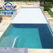 pp customized size high strength durable hard swimming pool safety cover for family