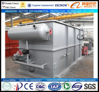 100CBM/day Leather Factory Production Wastewater Treatment Plant, quick remove BOD, COD, TSS