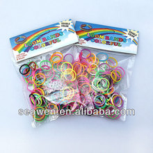 rubber band for DIY make bracelets with rubber bands