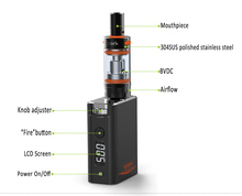 Vpark 2015 new vape mod rechargeable battery vape mod 50w new vapor mod vape Mini Premium Kit