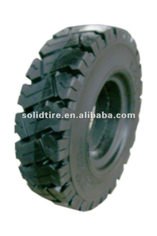 Anair pneumatic solid rubber tires for trailers