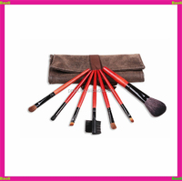 Baoli 7pcs makeup brush set Cosmetic bag 10years durable with private label for UK