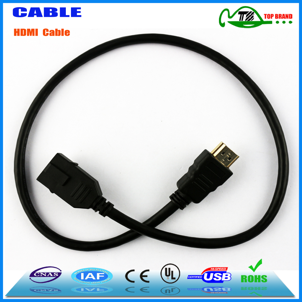 Certificated factory high speed ethernet hdmi cable male to usb female cable