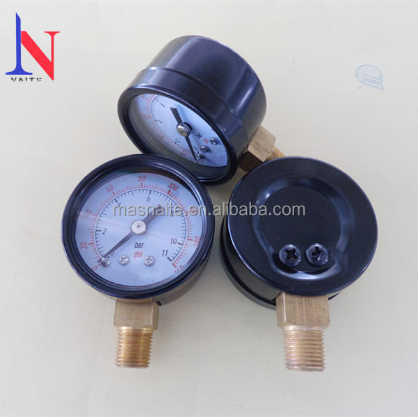 "2"" Air compressor pressure gauge manometer"