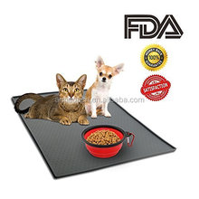 In Premium FDA Grade Silicone Pet Feeding Mat for Dog and Cat