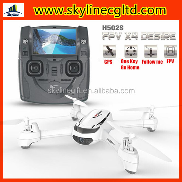 2016 New Hubsan X4 H502S GPS follow me FPV drone quadcopter with 720p HD Camera