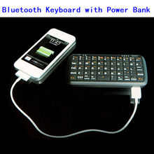 High Quality Low Price Portable Power Bank /BT Keyboard for mobile phone
