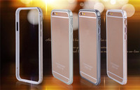For Apple iPhone 6 Bumper Case Luxury Aluminum Metal Cell Phone Protective Cases For iPhone6 plus