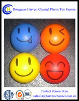 Promotional Smile Face Anti Stress Balls