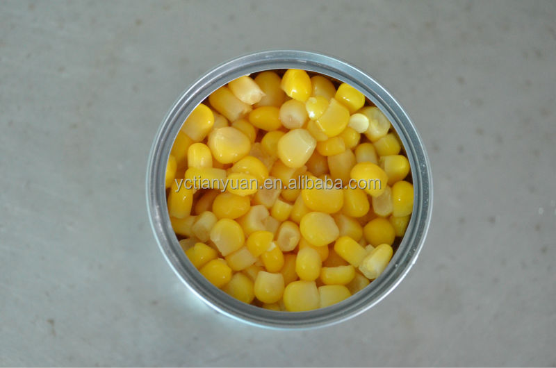 CANNED fresh SWEET KERNEL CORN