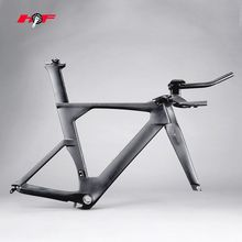 Hotest!HONG FU oem carbon tt bicycle frame,A tt bike frame carbon many people want to order