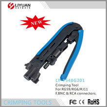 T548G201 COMPRESSION TOOL Hand crimping pliers Can adjust the distance