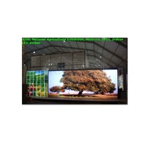 P10 indoor full color led flat screen korea