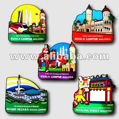 3D Landmark Souvenirs - Fridge Magnet
