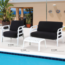 Good quality Outdoor leisure sofa cushion chair Swimming pool recliner