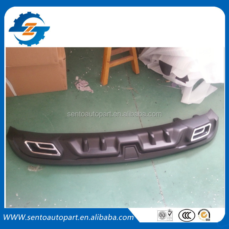 high quality PP body kit parts rear bumper lip rear diffuser designed for Elantra 2011-2014