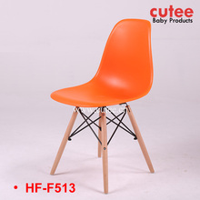 Hot Sale Colorful Simple Plastic Wooden Garden Lounge Chair Furniture