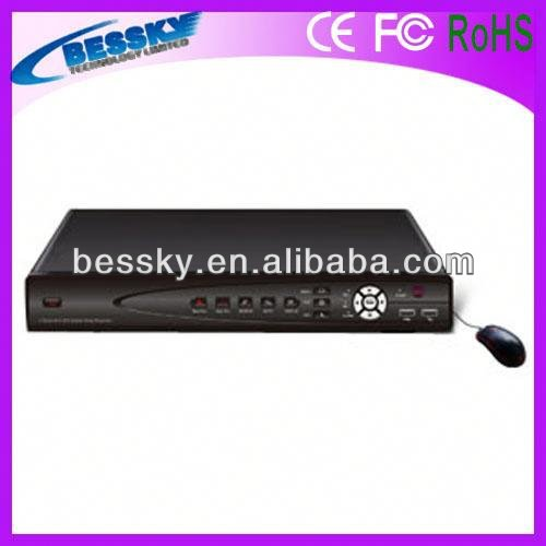 Hot sale 4ch hd mpeg4 network dvr